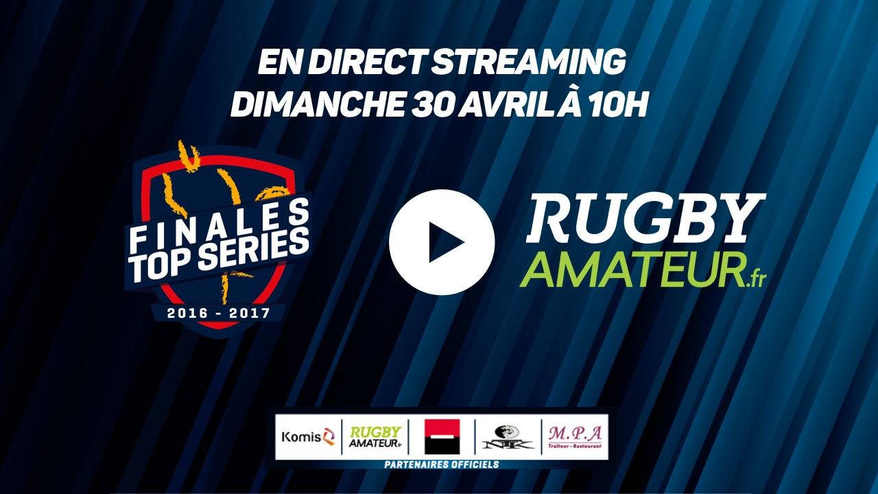 Live Streaming Rugby Amateur - Finales Top Séries