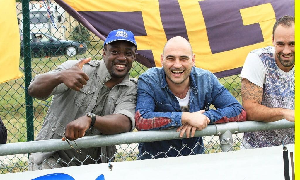Quand le rugby pro soutient le rugby amateur (photo N. Gimeno)