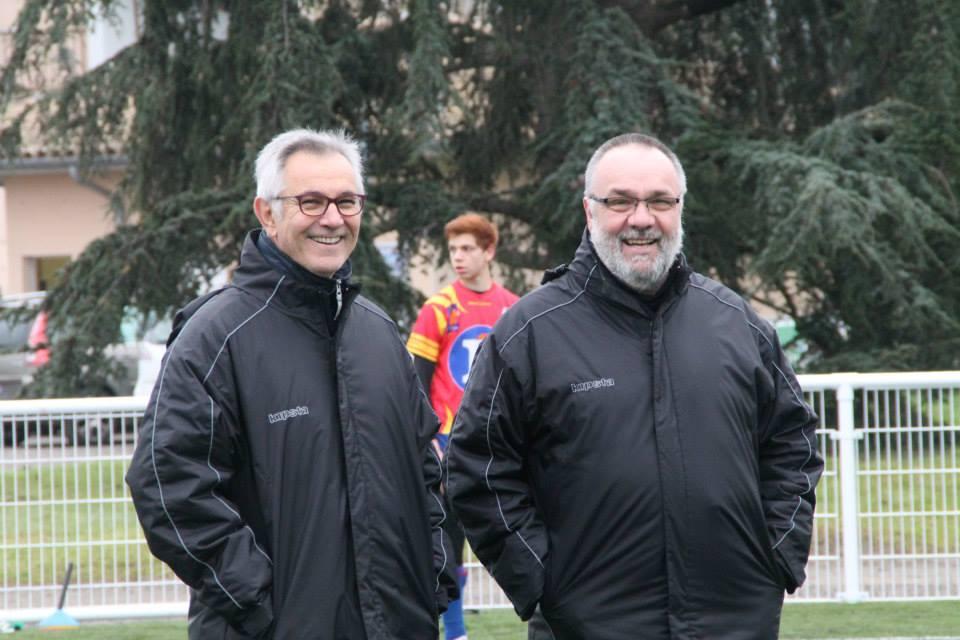 Daniel Ouvrié (à gauche), ici en compagnie de Alain Galaup, laisse sa place de président vacante.