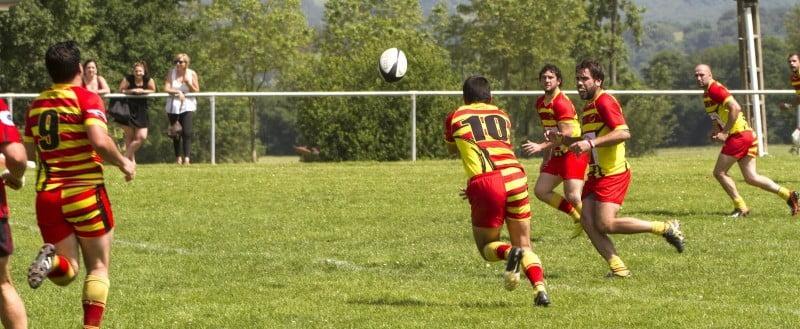 Lézat lancera son jeu d'attaques ce dimanche à Montréjeau (photo club)
