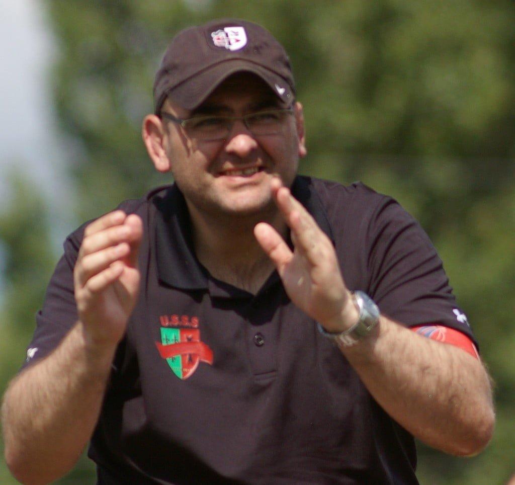 Michel Rieux, a vécu son dernier match à Gaston Sauret, comme entraîneur de l'équipe fanion. Mais comme à son habitude, le plus important, c'est l'équipe d'abord (photo USSS)