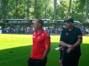 Il faudra s'habituer à ne plus voir le duo Argentin (en rouge) et Rieux. ce dernier s'occupe désormais des Belascain