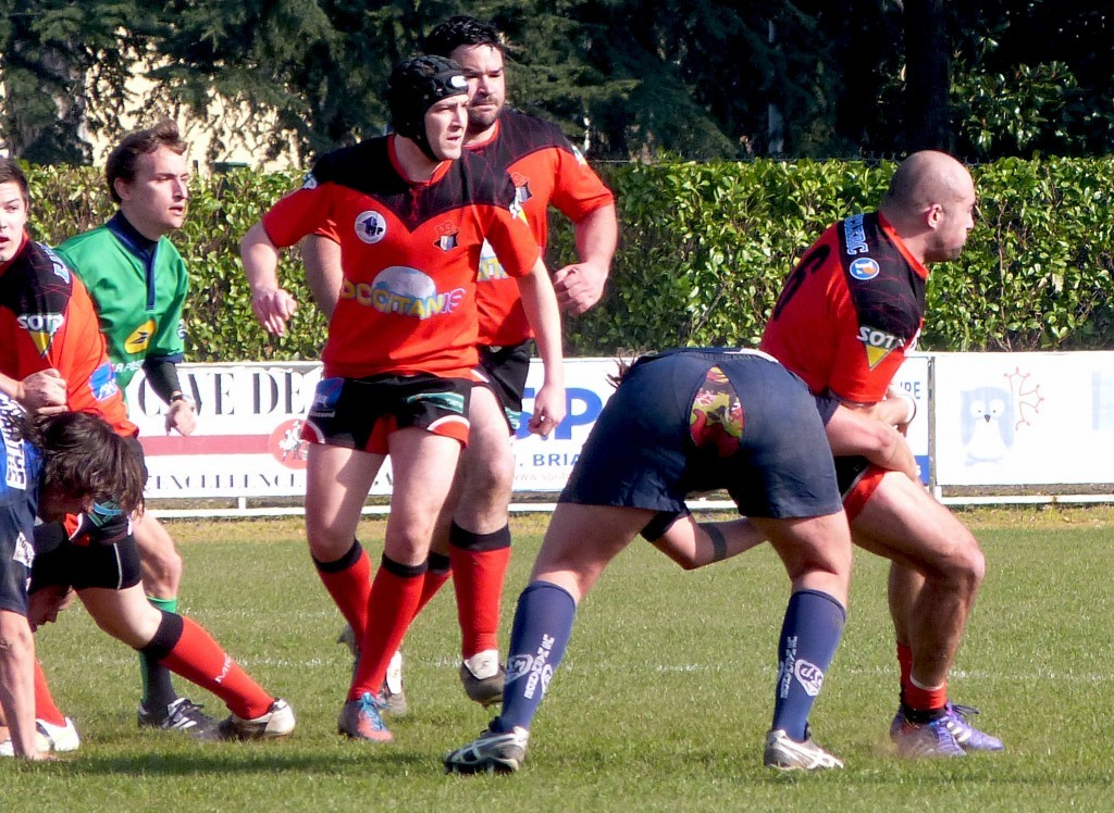 Marmande a craqué contre Graulhet (photo Christophe Fabries)