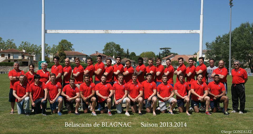 Belascain 2013-14 Blagnac