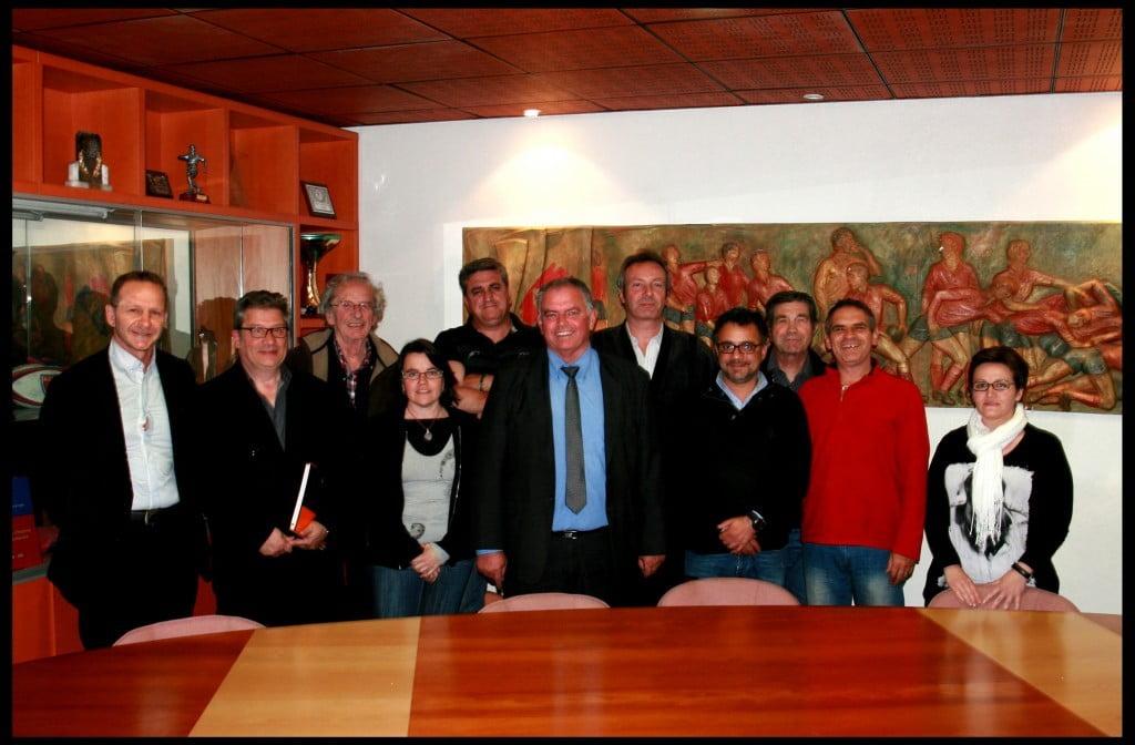 Photo Comité directeur blagnac avril 2014