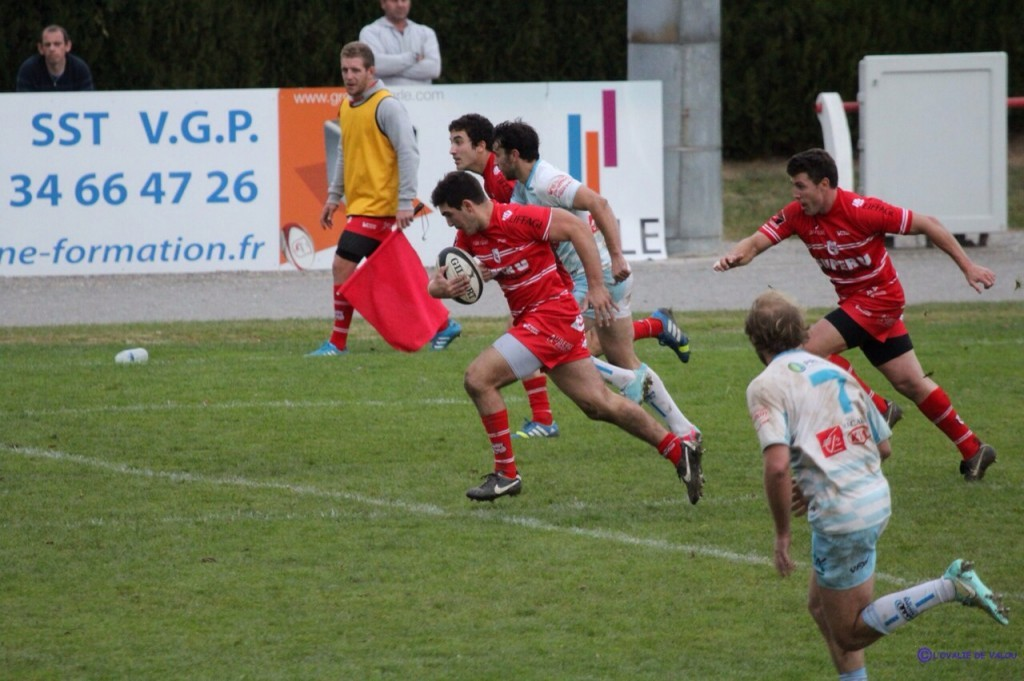 Villefranche-de-Lauragais / Cahors (photo @L'OVALIE DE VALOU)