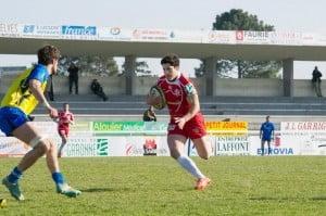 Guillaume Pays est également doué ballon en mains (photo Michel Delsol)