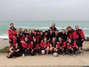 Malgré ma défaite, les filles de l'UAFG ont profité des charmes du Pays Basque (photo club)