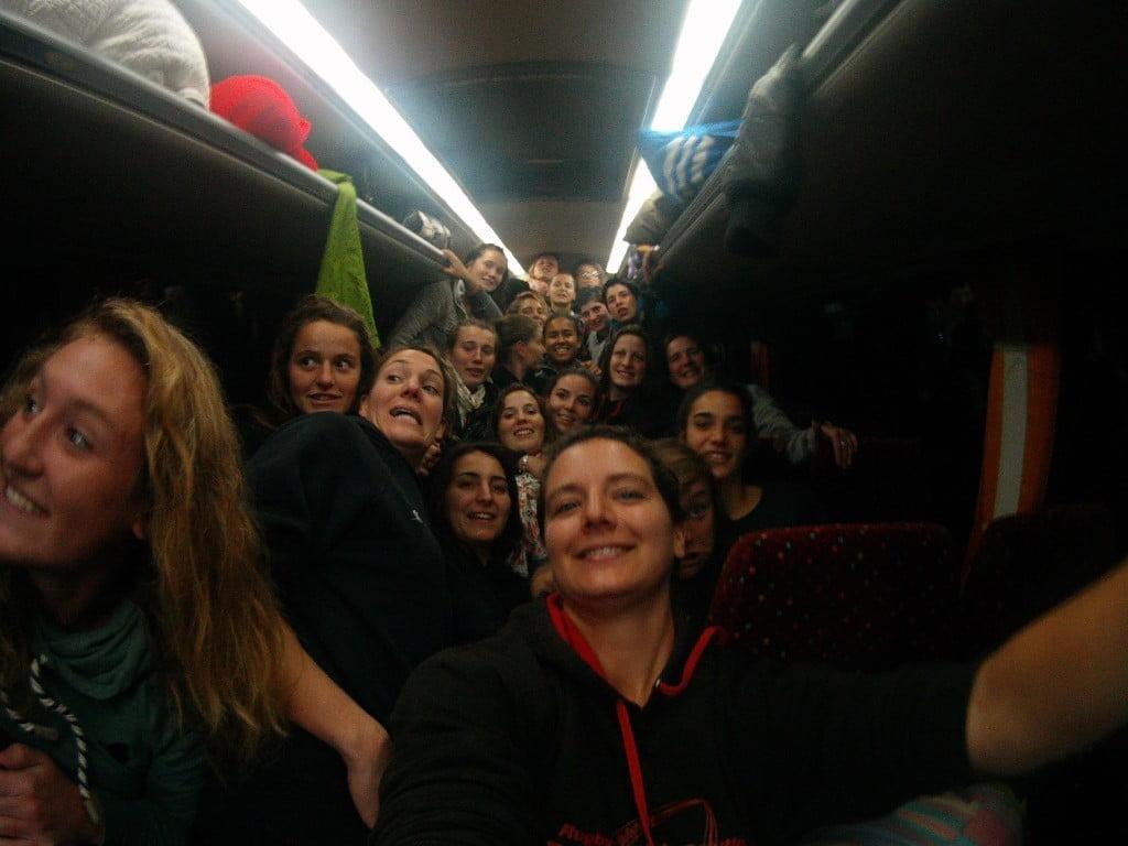 selfie bsorf bus