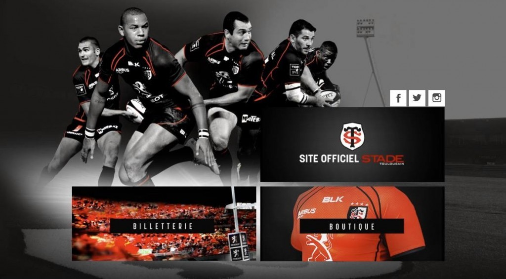 stade toulousain page accueil