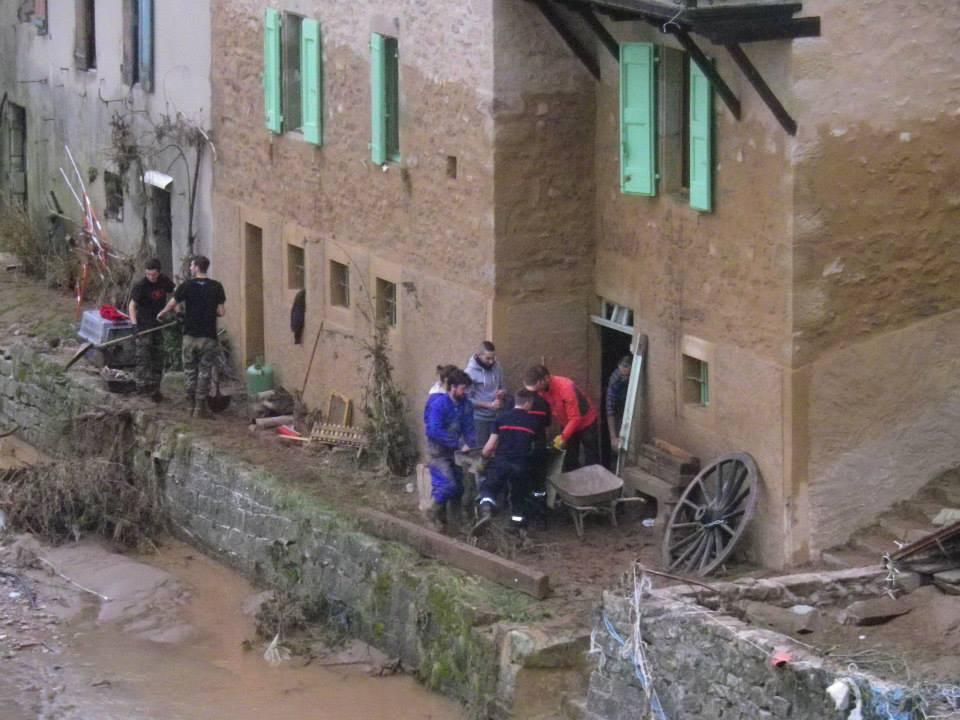 Saint affrique innondations (1)