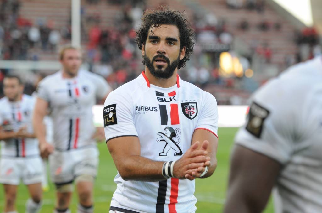 """Depuis 3 saisons, """"La Huge"""" porte à nouveau le maillot du Stade Toulousain (photo Colin Saint-Chamant/Stade Toulousain)"""