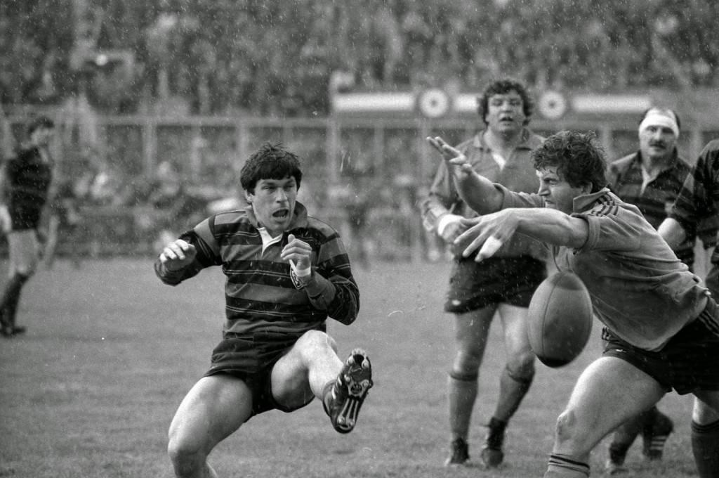 Photo 1 Finale Coupe de France 1985 Toulouse Narbonne crédit André Cros côte 53Fi 4601