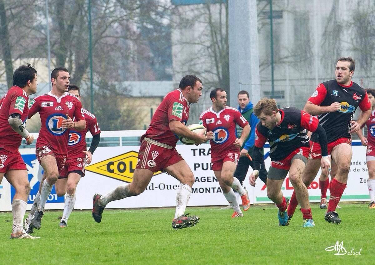 Kubiak balle en mains, attention ça va faire mal (photo Michel Delsol)