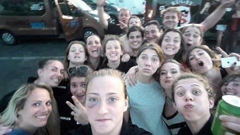Le selfie de rigueur ! Vous retrouverez ces filles en Top 8 la saison prochaine.