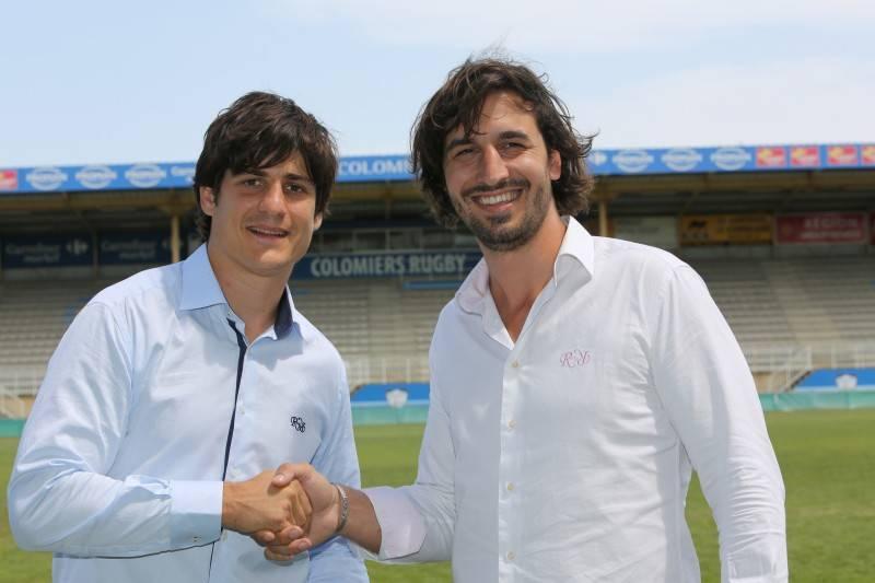 David Skréla et Julien Tourtoulou heureux de ce nouveau partenariat (photo club)