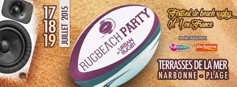 rugbeach party 2015