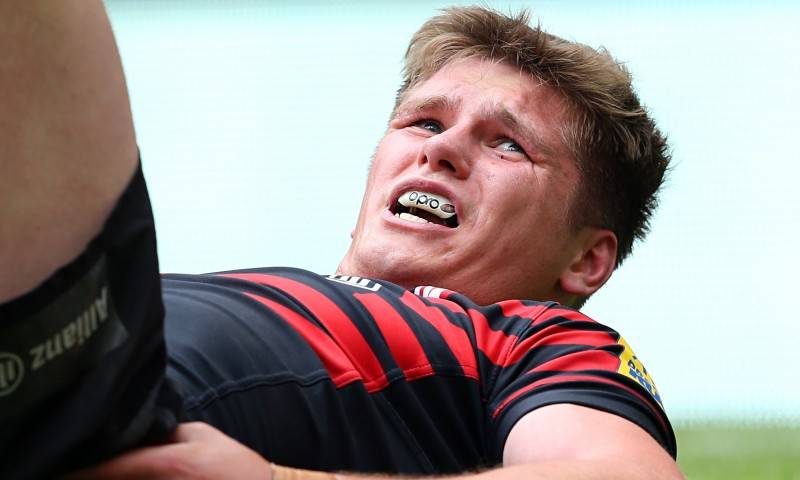 Saracens' Owen Farrell will join the England squad in New Zealand