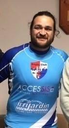 Pour RugbyAmateur.fr, la première photo officielle de Weepu avec le maillot du RCS