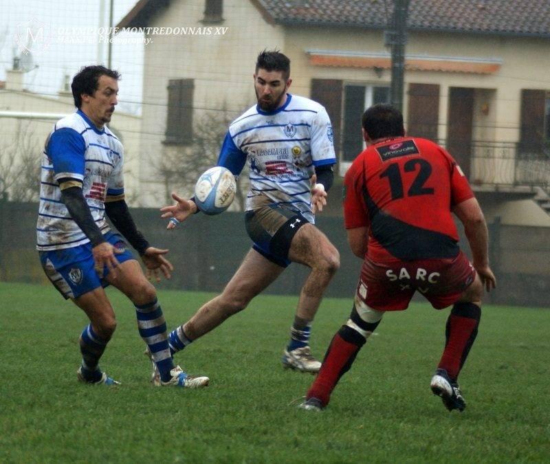 Le ballon n'a pas eu l'occasion d'aller derrière la ligne entre Montredon et Rabastens (photo Maxx)