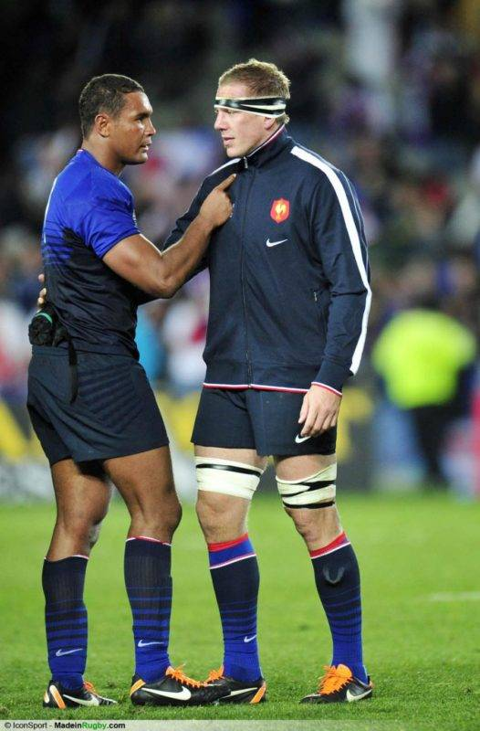 joie-france-thierry-dusautoir---imanol-harinordoquy-08-10-2011-angleterre---france-1-4-finaleimanol made in rugby
