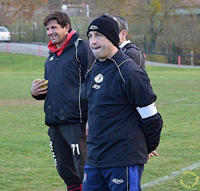 Avec son compère Christophe Palmato, il a découvert les plaisirs du coaching auprès des jeunes. Avec réussite, déjà...