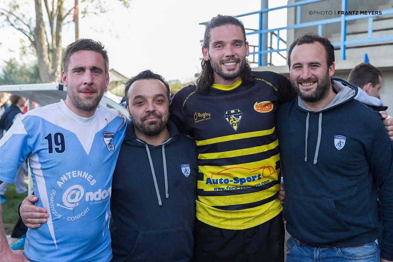 avec Romain Oulès, Julien Ruchon, Emmanuel Panis et Julien Otal