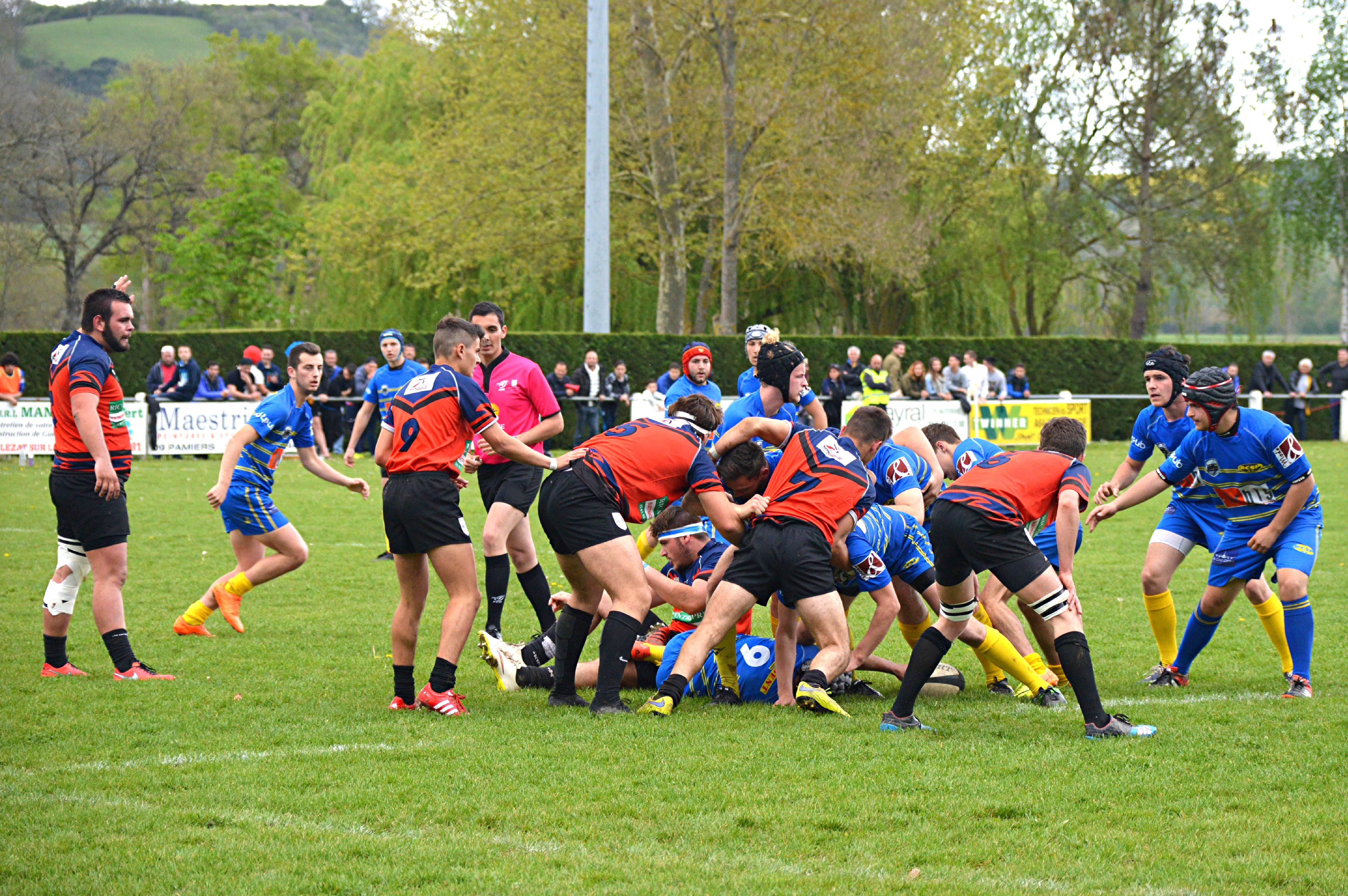 match des juniors LPDC - la Salvetat St.Gilles 17 Avril 2016 (1)