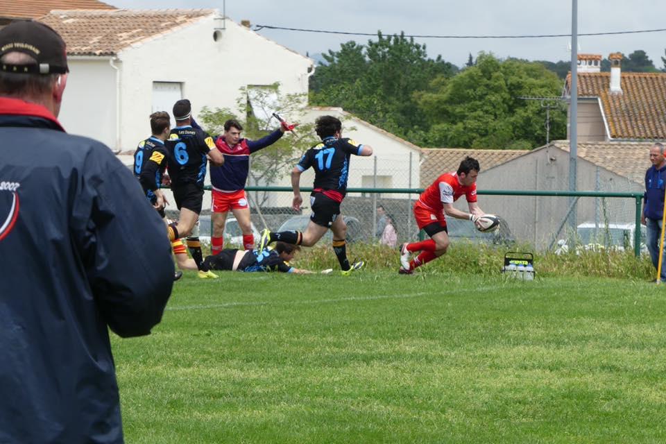 Medeau délivre les balmanais juste avant la pause ( photo club BORC )