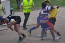 Une scène d'une rare violence sur un terrain de rugby