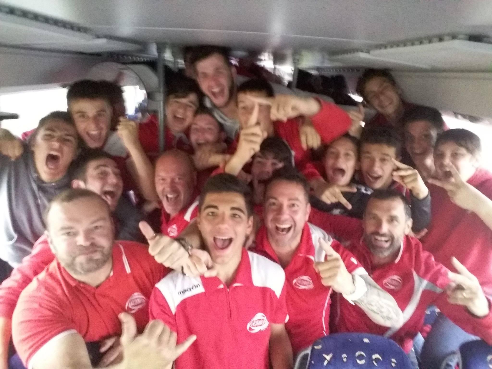 Les Cadets Teulière A de l'Avenir Castanéen Rugby ils ont gagné leur huitièmes de Finale du championnat de France contre Terre de Provence 52-0