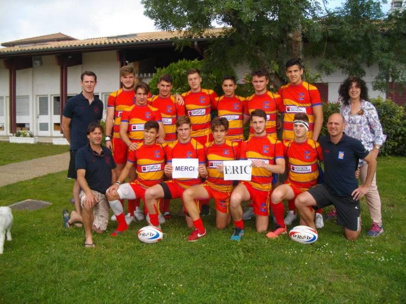 La sélection Midi-Pyrénées U16 à Soustons