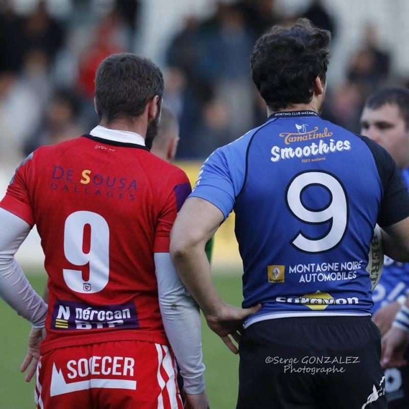 Clément Allabert et Ludo Garric toujours aussi précieux, rien de neuf en somme (photo Serge Gonzalez)
