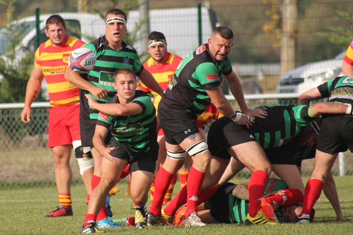 1ère série - Foix bat le SAF XV sur la sirène - Rugby Amateur