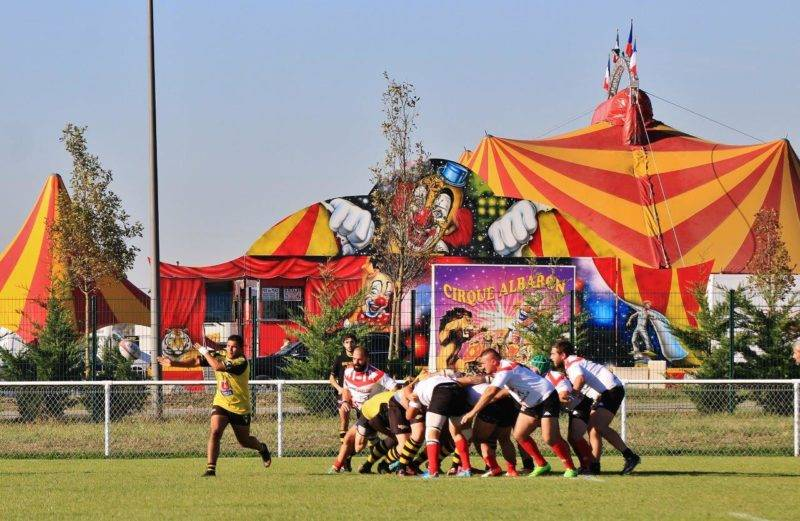 Seilh contre Lavelanet, ce n'était pas du cirque (photo P. Villalba)