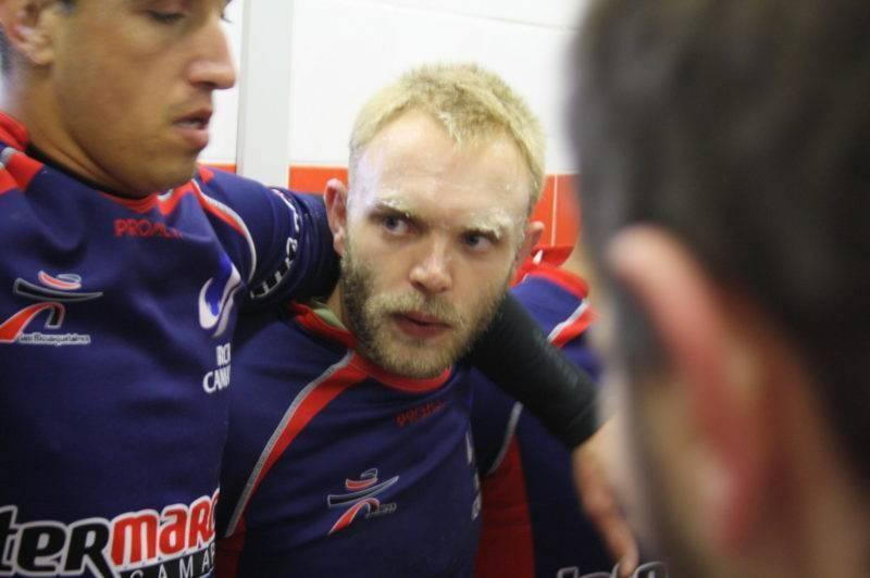 Sylvain Escach, leader de l'attaque du Rougier