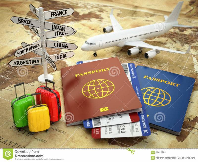 avion passeport