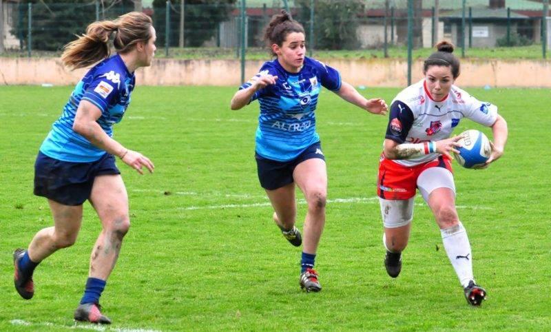 Carla Neisen tente de déborder la défense héraultaise (photo Wildon)