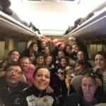 retour en bus depuis Toulon . Nous avons gagné à St mandrier 0-13 luzech