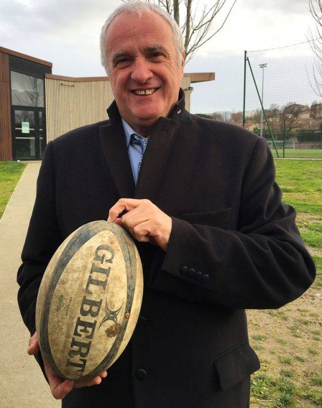 Alain Doucet, ici à Saint-Orens, dimanche dernier, a officialisé sa candidature (photo Wildon - RugbyAmateur.fr)