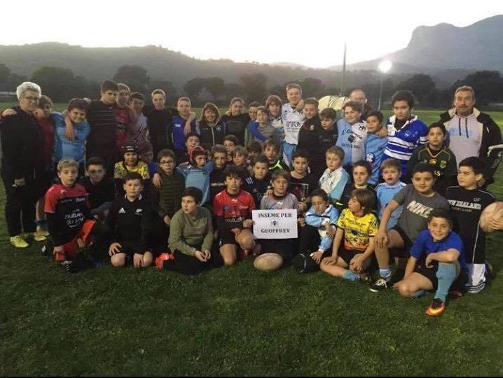 Les U12 et U14 du Rugby Club Ajaccien , Inseme per Geoffrey