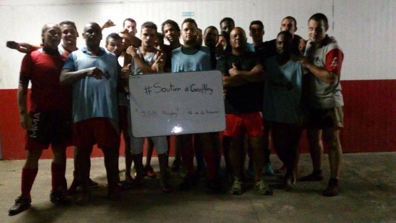 au JSB Rugby, île de la Réunion.