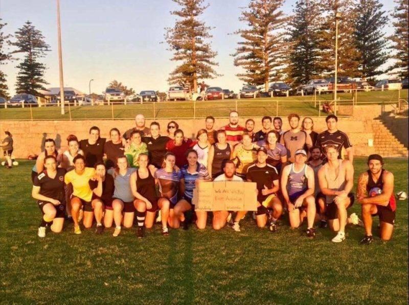 australiens de Cottesloe Rugby Club.