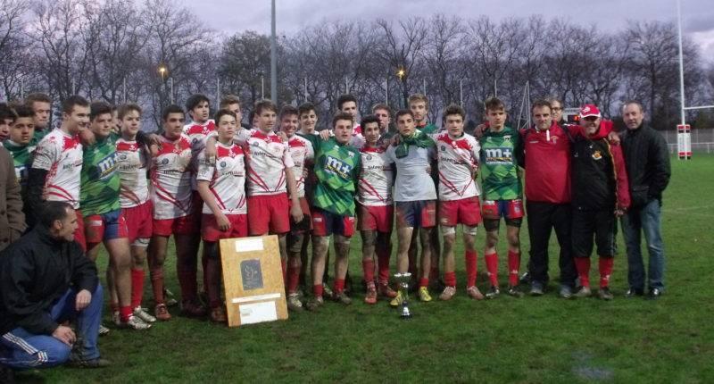 castanet U16 seven rugby à 7