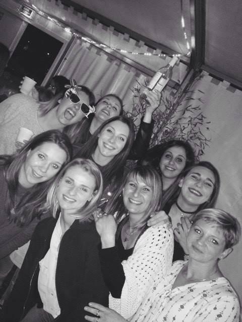 Selfie Des Femmes De Joueurs De Mazeres Cassagne