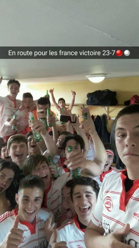 Snap victoire balandrade de castanet barrage championnat de France