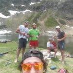 saverdun en montagne à l'étang bleu au dessus de tarascon