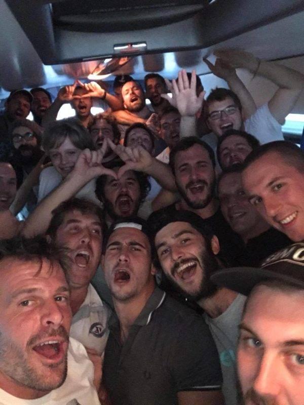 Le XV de la save victoire à Cambon d'Albi 36 0