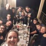 selfie chez un autre néo retraité Nabil Derainsuite au premier barrios de la saison