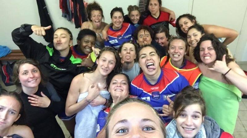 victoire des Gazelles de l'USA Limoges (victorieuses 10 7 de St Yrieix en Fédérale 1